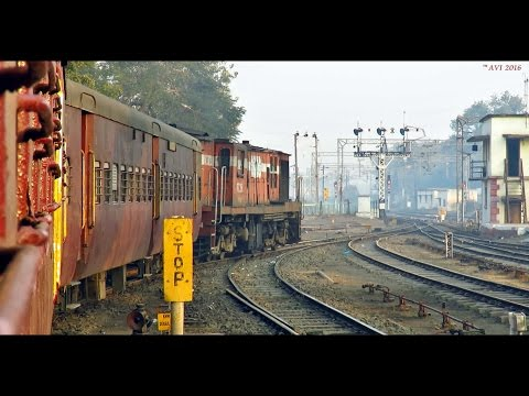 Morning Journey in a METER GAUGE Train : Khandwa-Omkareshwar (Indian Railways)