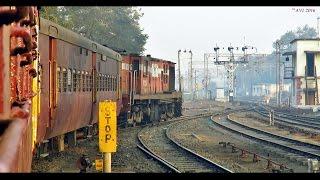 Morning Journey in a METER GAUGE Train : Khandwa-Omkareshwar (Indian Railways)