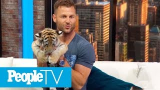 Animal Planet's Big Cat Expert Dave Salmoni Celebrates Global Tiger Day With Tiger Cub | PeopleTV