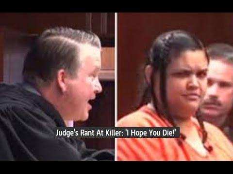 Judge Rant Convicted Murderer