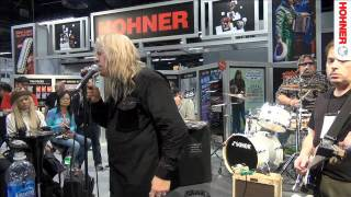 Darrell Mansfield at NAMM 2012 - All Along The Watchtower