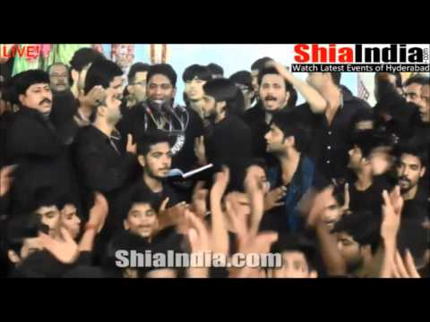 8th Muharram Anjuman e Al Abbas Matam From Bargah 1437 2015 16