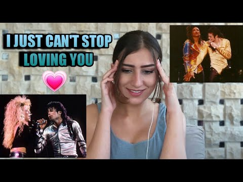 I JUST CAN'T STOP LOVING YOU - MICHAEL JACKSON LIVE PERFORMANCES  - Reaction