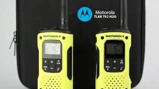 Motorola TLKR T92 H2O. Безлицензионная и влагозащищенная.