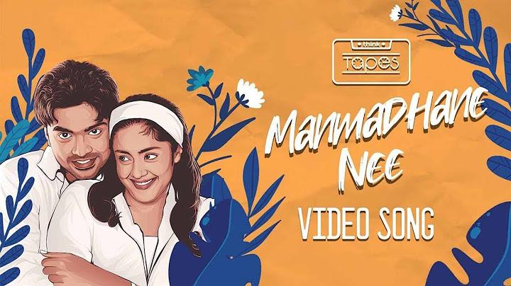 manmadhan  manmadhane nee video song  silambarasan jyotika  yuvan shankar raja  thinktapes