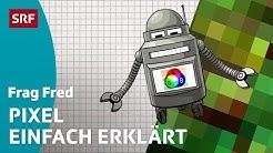 Was sind Pixel? | Frag Fred | SRF Kids – Kindervideos für Kinder
