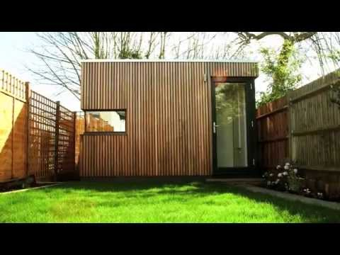 Garden Office Pod - Space solution for terraced south London