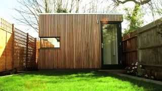 Garden Office Pod - Space solution for terraced south London house