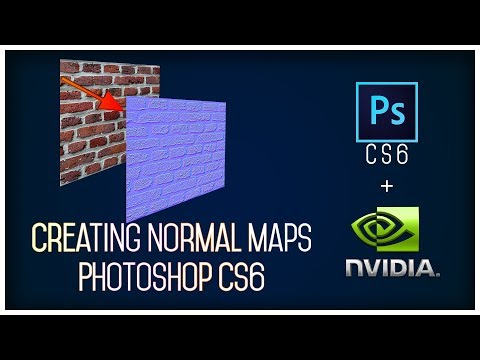 Creating Normal Map In Photoshop Cs6 | For Beginners.