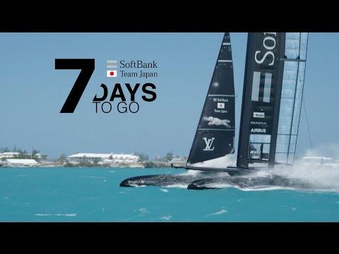 7 Days to Go // SoftBank Team Japan