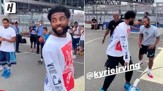 Kyrie Irving READY FOR NETS DEBUT! Playing with Fans in Brooklyn!