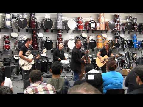 Lee Rocker at Sam Ash Music in Torrance, CA