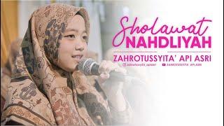 ZAHROTUSSYITA'   SHOLAWAT NAHDLIYAH LIVE @Syubbanul Wathon