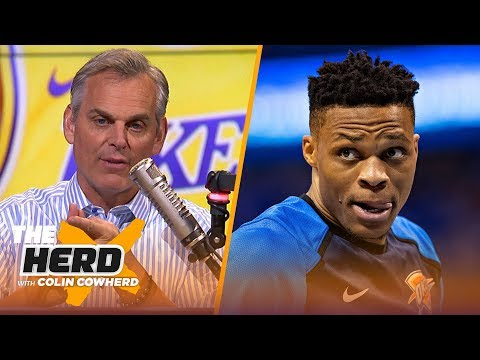 Russell Westbrook is a 'horrible warning', Colin says Lakers need a 'Hail Mary' | NBA | THE HERD