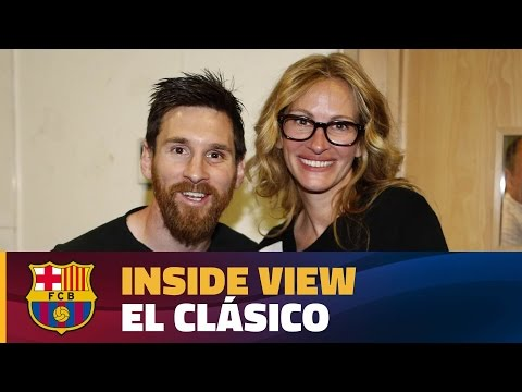 [BEHIND THE SCENES] FC Barcelona's day in Madrid