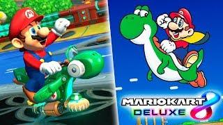 SUPER MARIO WORLD EN MARIO KART 8 DELUXE | Nintendo Switch
