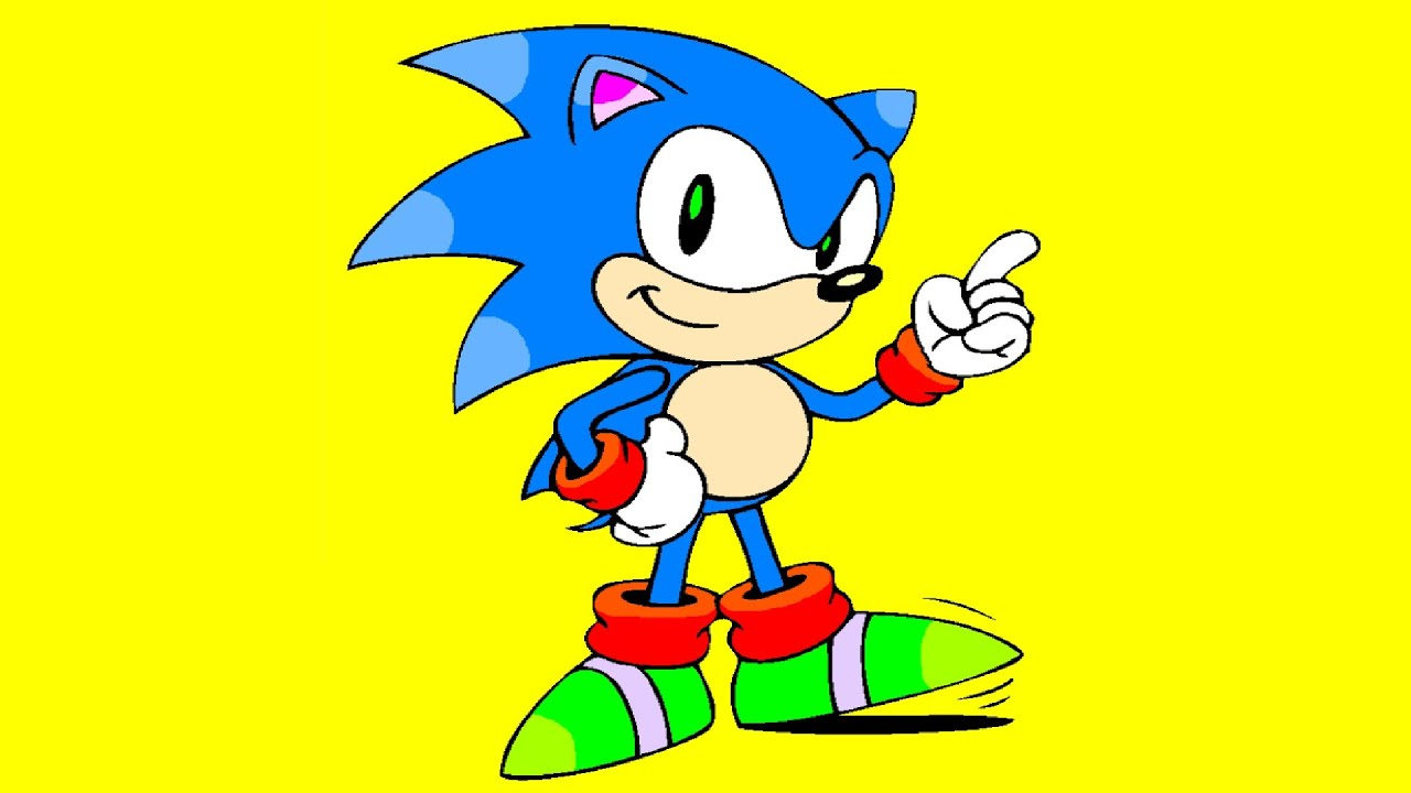Sonic Coloring Page coloring Book With Game characters YouTube