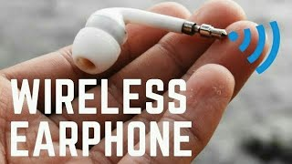 How To Make Wireless earphone Easily At Home thumbnail