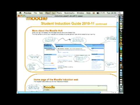 Anne Dickinson - Fast effective Moodle induction