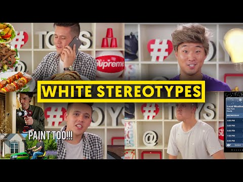 STEREOTYPES ABOUT WHITE PEOPLE #2