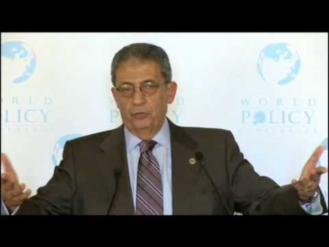 Amr Moussa- Lunch - Nov 1,09 -  3/3