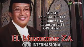Download H. MUAMMAR ZA | sang legendaris Qori internasional