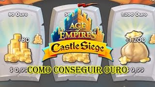 Age of Empires Castle Siege #7 - Moedas de Ouro