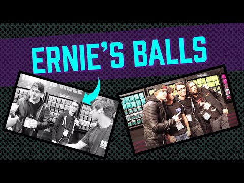 ernie's balls namm 2018 (ft. Stevie T. and 10 Second Songs)