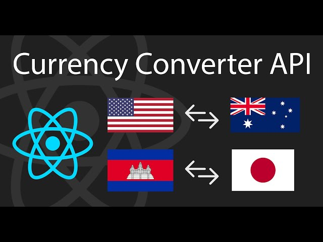 I Build a Currency Converter with FREE API | React Tutorial