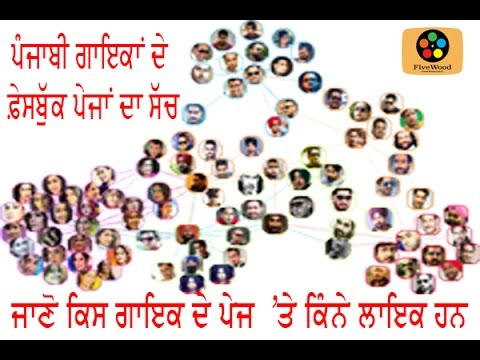 Punjabi Singers facebook pages II Real or Fake II Popularity Meter II Fivewood