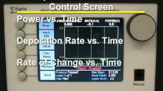 KJL PVD75 Filament Evaporator (1 of 2) - training video (Georgia Tech - Microelectronics Research Center)