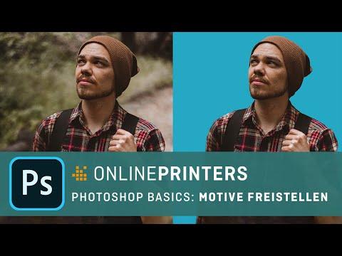 Freistellen Mit Photoshop CC 2018 – Photoshop Basics Tutorial