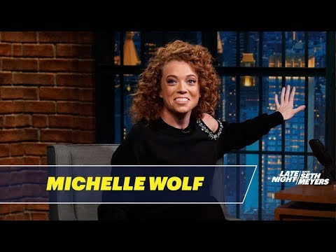 Michelle Wolf Tells Jokes She Wasn't Allowed to Write for Late Night
