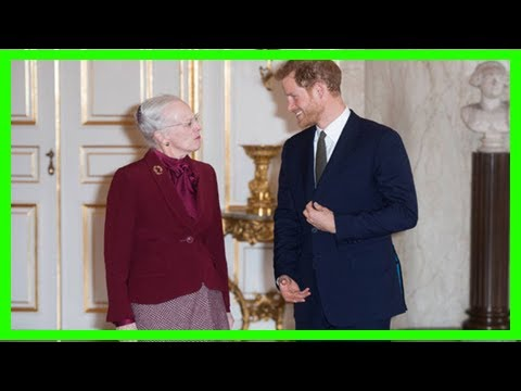 Breaking News | Brexit charm offensive: prince harry meets denmark's queen margrethe ii in copenhag