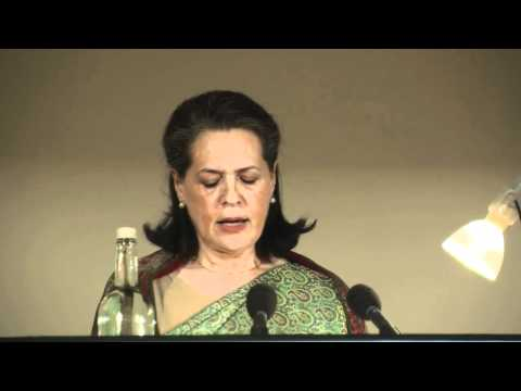 Sonia Gandhi: 14th Commonwealth Lecture - Women as Agents of Change (HD)