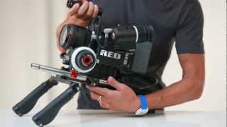 Product Demo: Wooden Camera Shoulder Support