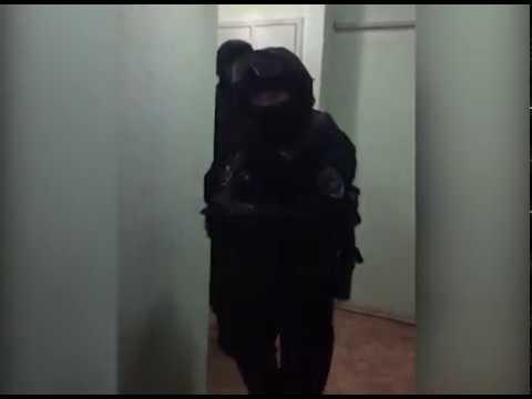 Задержание вымогателя спецназом...