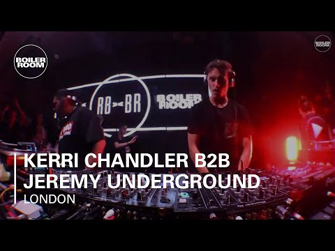 Kerri Chandler b2b Jeremy Underground Ray-Ban x Boiler Room 017 London DJ Set