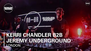 Kerri Chandler b2b Jeremy Underground Ray-Ban x Boiler Room 017 London DJ Set