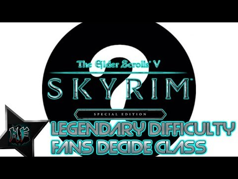 Skyrim SE Legendary Diff - Aesthetically Modded   Fans Decide Playstyle   XBox One X thumbnail
