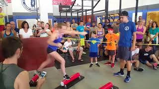 Allyssa Beird 1st Place National Ninja League Qualifier TA Fitness