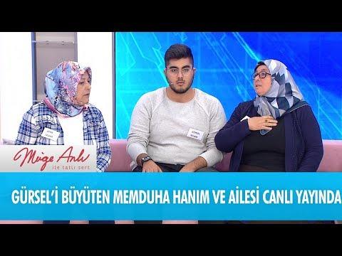 Gürsel'i büyüten Memduha Hanım ve ailesi canlı yayında - Müge Anlı İle Tatlı Sert 24 Ekim 2018