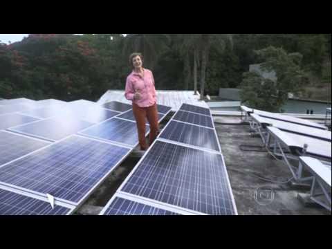 Matéria Fantástico - Energia Solar