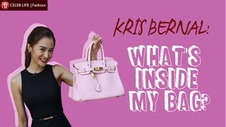 PEP RAID Inside Kris Bernal 39 s dream bag