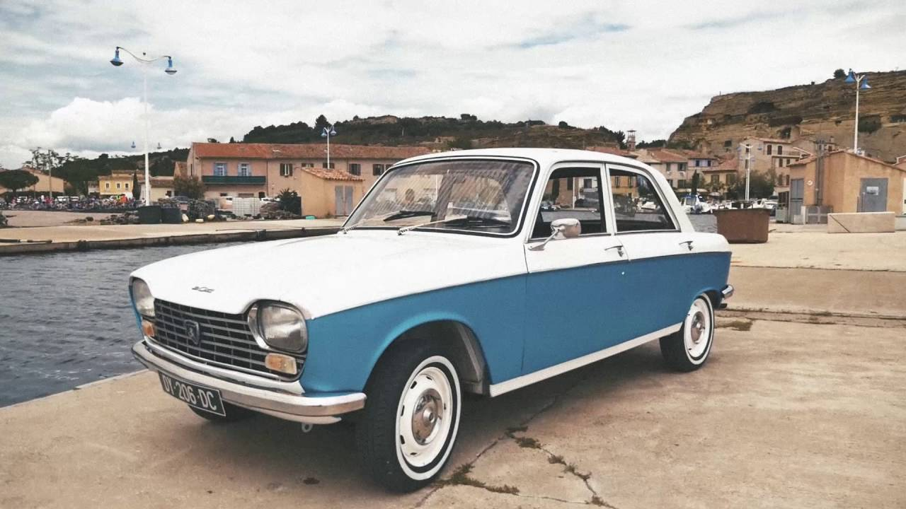 France 1969-1971: Peugeot 204 dominates - Best Selling