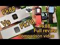 - FK88  IWO series6 iwatch unboxing 📦1.78FULL REVIEW  Comparision: Vwar FK88 VS FK78 Smart Watch