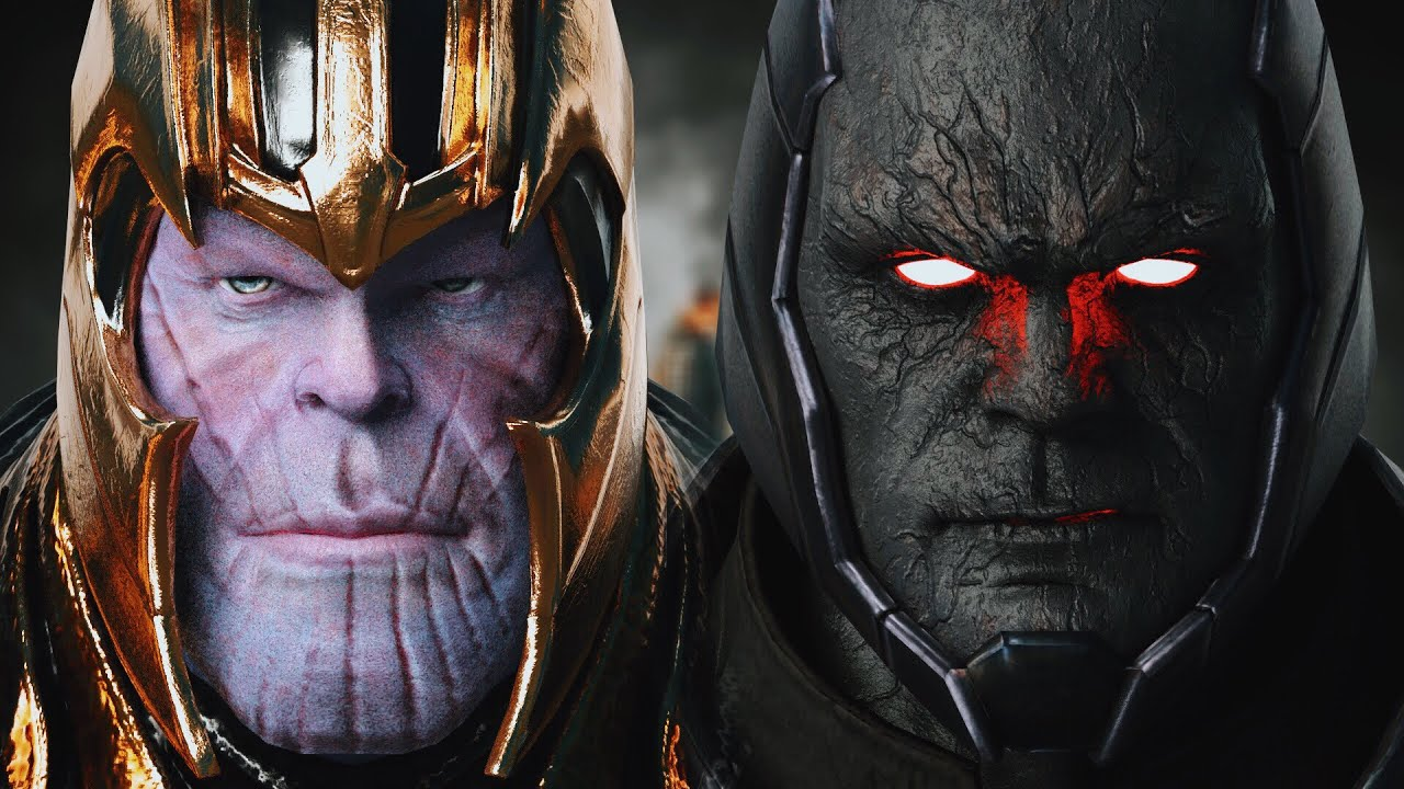 THANOS vs. DARKSEID (Battle of the Titans) - Part I | EPIC BATTLE!