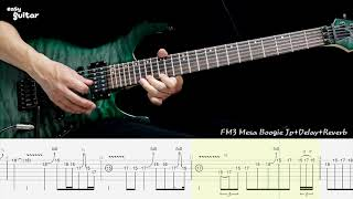Dream Theater - Barstool Warrior Guitar Solo Lesson With Tab(Slow Tempo)