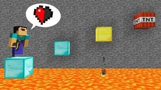 NOOBS VS MAPA 99% IMPOSIBLE A MEDIO CORAZON (Mapas de Minecraft)