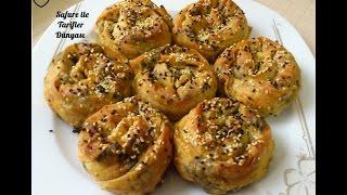 Hazır Yufkadan Kolay Lezzetli Ispanaklı Gül Böreği Tarifi - Nefis Bir Ispanaklı Börek Nasıl Yapılır?